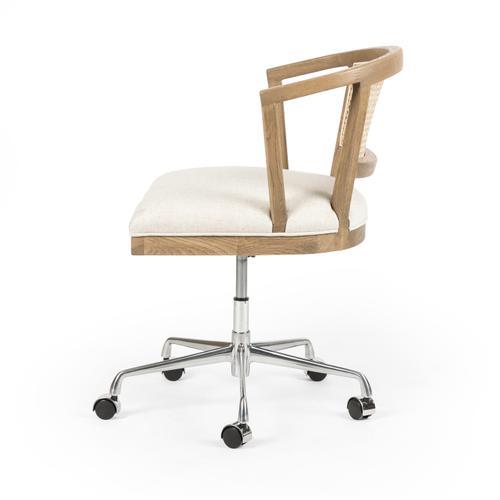 Four Hands - Light Honey Oak Finish Alexa Desk Chair