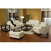 Samuel Transitional Cream Sofa Product Image
