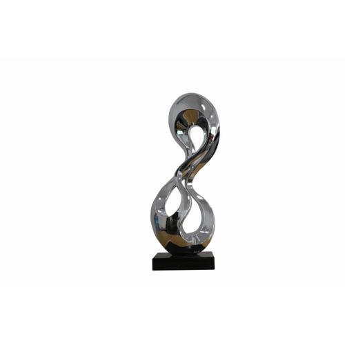 Gallery - Modrest Eternity Modern Silver Sculpture