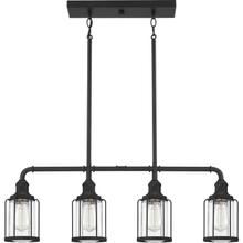 View Product - Ludlow Island Chandelier in Earth Black