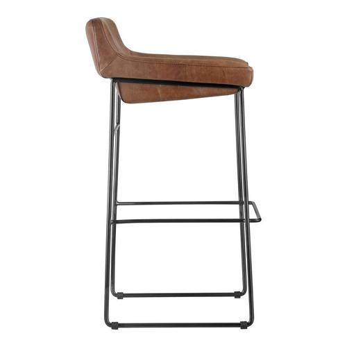 Moe's Home Collection - Starlet Barstool Cappuccino-m2