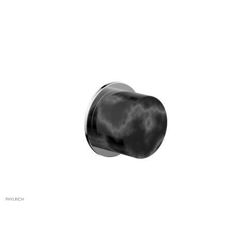 BASIC II Cabinet Knob - Marble 230-92 - Polished Chrome