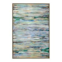 Blue Braid Wall Décor W/frame