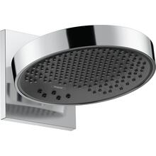 Chrome Showerhead 250 3-Jet with Wall Connector Trim, 2.5 GPM