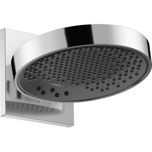 Hansgrohe - Chrome Showerhead 250 3-Jet with Wall Connector Trim, 1.75 GPM