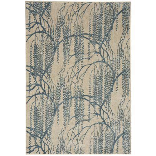 Willow Azul Machine Woven Rugs