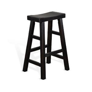"Sunny Designs - 30""H Saddle Seat Stool"