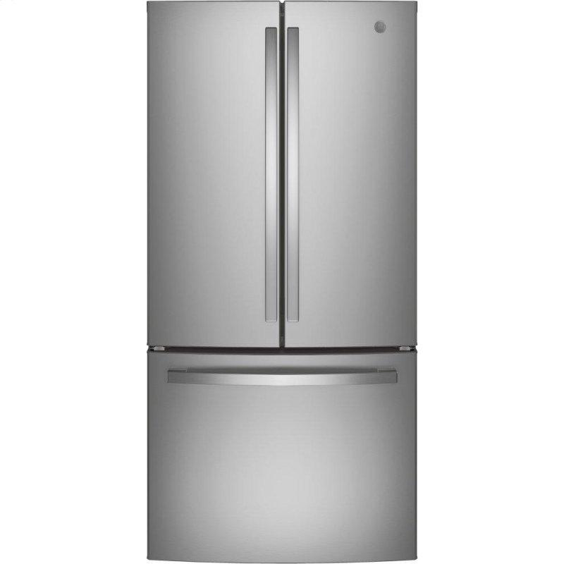 GE(R) ENERGY STAR(R) 18.6 Cu. Ft. Counter-Depth French-Door Refrigerator