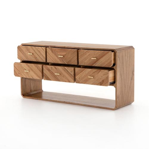 Caspian 6 Drawer Dresser