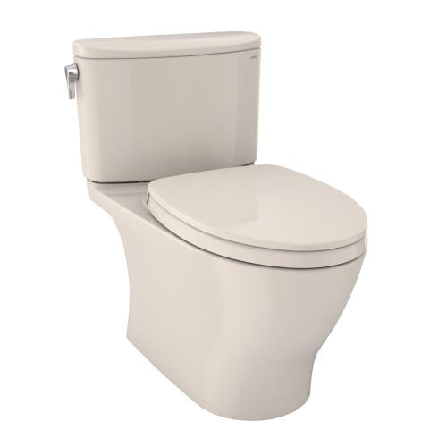Nexus® 1G Two-Piece Toilet, 1.0 GPF, Elongated Bowl - Sedona Beige