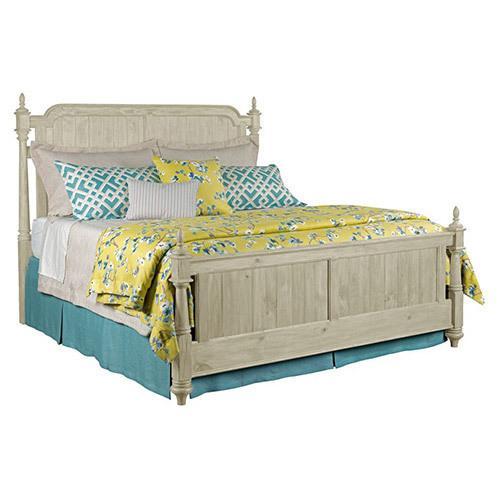 Weatherford Cornsilk Westland Queen Bed - Complete