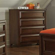 Greenough Transitional Cappuccino Four-drawer Chest
