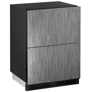 "U-Line1224dwr 24"" Refrigerator Drawers With Integrated Solid Finish (115 V/60 Hz Volts /60 Hz Hz)"