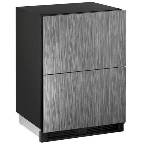 "U-Line - 1224dwr 24"" Refrigerator Drawers With Integrated Solid Finish (115 V/60 Hz Volts /60 Hz Hz)"