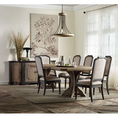 Dining Room Rectangle Pedestal Dining Base