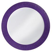 View Product - Bergman Mirror - Glossy Royal Purple