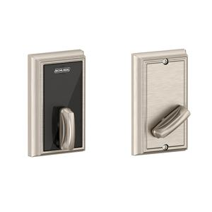 Schlage Control Smart Deadbolt with Addison Trim - Satin Nickel Product Image