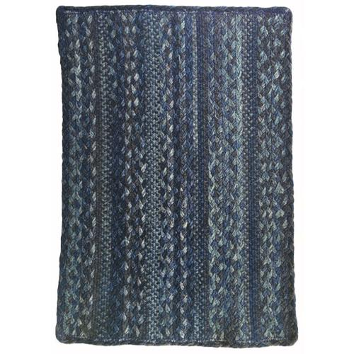 "Affinity Blue Steel - Vertical Stripe Rectangle - 20"" x 30"""