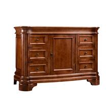 """See Details - Le Manns 48"""" Bathroom Vanity Cabinet Base in Colonial Cherry"""