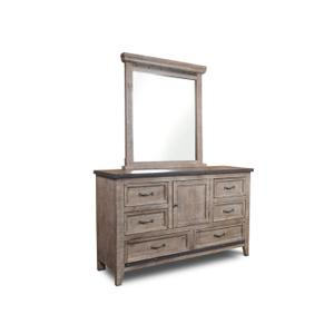 Horizon Home FurnitureUrban Rustic Gray Dresser
