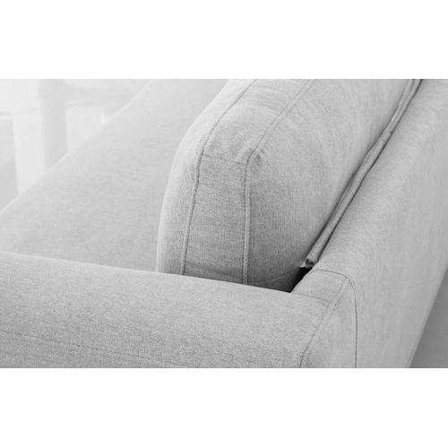 VIG Furniture - Divani Casa Jada - Modern Light Grey Fabric Sofa