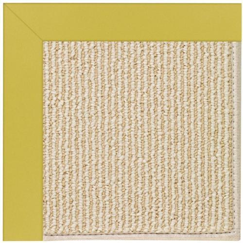 "Creative Concepts-Beach Sisal Canvas Lemon Grass - Rectangle - 24"" x 36"""