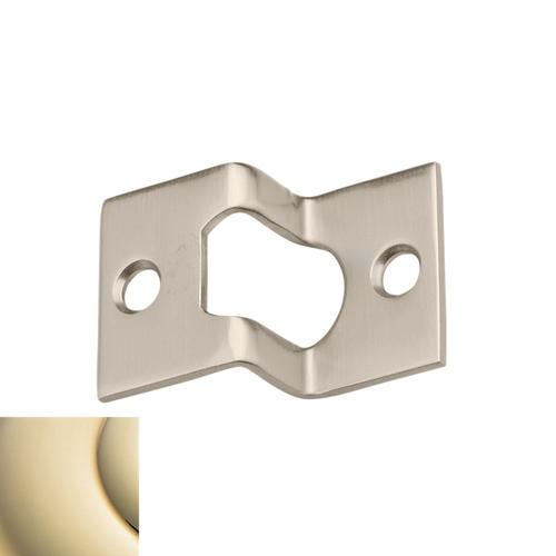 Lifetime Polished Brass Rabbeted Guide