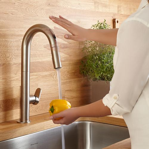 Beale Pull-Down Kitchen Faucet with Selectronic Hands-Free Technology  American Standard - Stainless Steel
