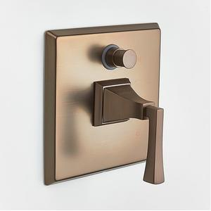 Leyden Pressure-balance Valve with Diverter Trim with Lever Handle - Phase out - Bronze