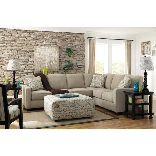 Alenya Sectional Quartz Left