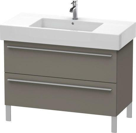 Product Image - Vanity Unit Floorstanding, Flannel Gray Satin Matte (lacquer)
