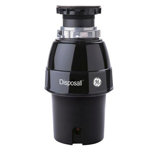Gallery - GE® 1/2 HP Continuous Feed Garbage Disposer Non-Corded
