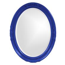 View Product - Queen Ann Mirror - Glossy Royal Blue