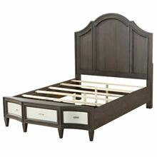 ACME Peregrine California King Bed - 27984CK - Walnut