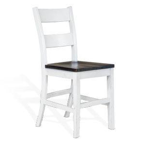 "24""H Ladderback Barstool"