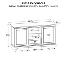 TS63B Custom TV Console