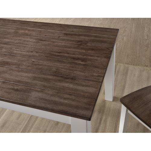 5057-59 RECTANGULAR DINING TABLE - WHITE