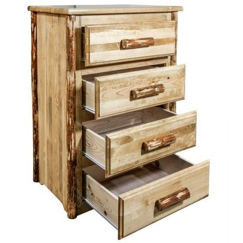 Montana Woodworks - Glacier Country Collection 4 Drawer Chest of Drawers