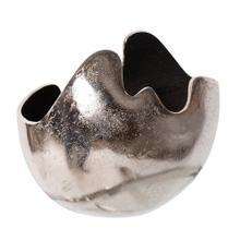 View Product - Asymmetrical Contemporary Aluminum Bowl