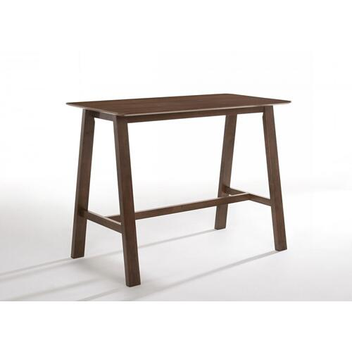 VIG Furniture - Modrest Lynn - Modern Walnut Bar Table