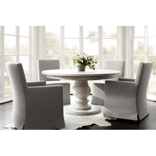 Mirabelle Round Dining Table in Cotton (304)