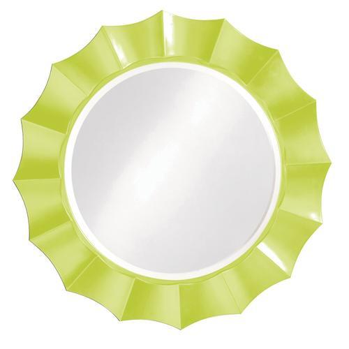 Howard Elliott - Corona Mirror - Glossy Green