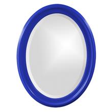View Product - George Mirror - Glossy Royal Blue