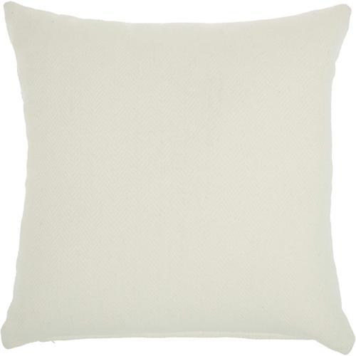 "Outdoor Pillows Ss901 Ivory 18"" X 18"" Throw Pillow"