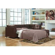 Maier Walnut Sleeper Sectional Right