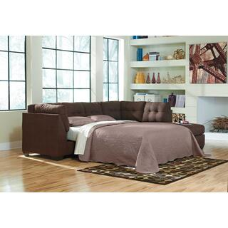 Product Image - Maier Walnut Sleeper Sectional Right