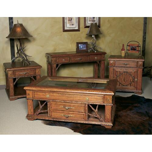 Whitetail Ridge Accent End Table