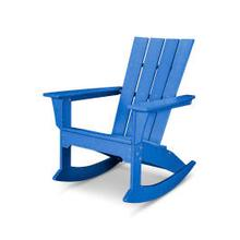 View Product - Quattro Adirondack Rocking Chair in Pacific Blue