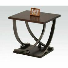 ACME Isiah End Table - 80357 - Black Nickel