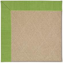 Creative Concepts-Cane Wicker Canvas Lawn Machine Tufted Rugs
